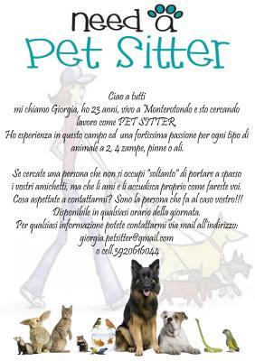 Annunci gratuiti nei comuni a nord est di roma animali for Cerco dog sitter